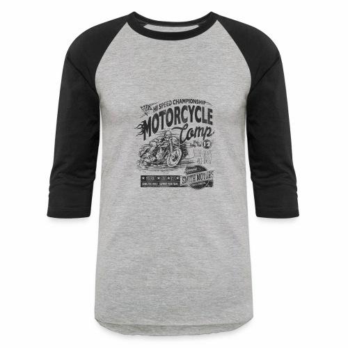 Motorcycle Camp - Baseball T-Shirt