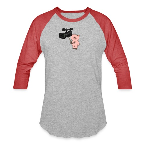 Hammie holding camera - Baseball T-Shirt