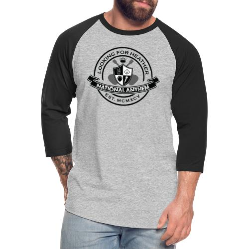 Looking For Heather - National Anthem Crest - Unisex Baseball T-Shirt