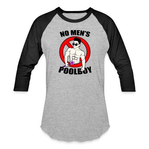 poolboy - Unisex Baseball T-Shirt