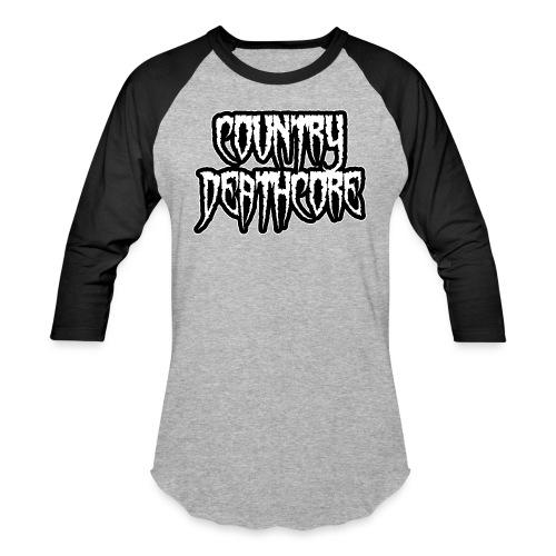 COUNTRY DEATHCORE - Baseball T-Shirt