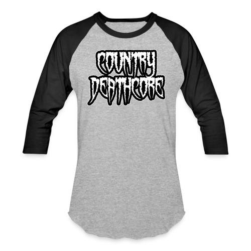 COUNTRY DEATHCORE - Baseball T-Shirt