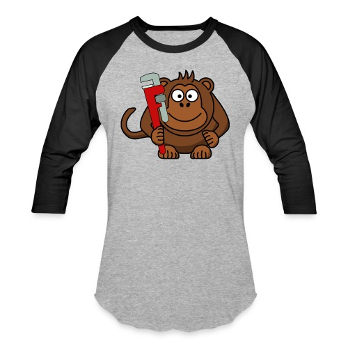 Monkey wrench - Baseball T-Shirt