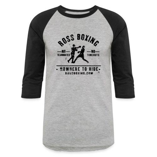 rossboxing_black - Unisex Baseball T-Shirt