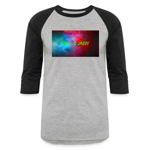 NYAH AND JAZZY - Baseball T-Shirt