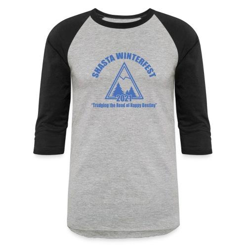 front logo - Unisex Baseball T-Shirt