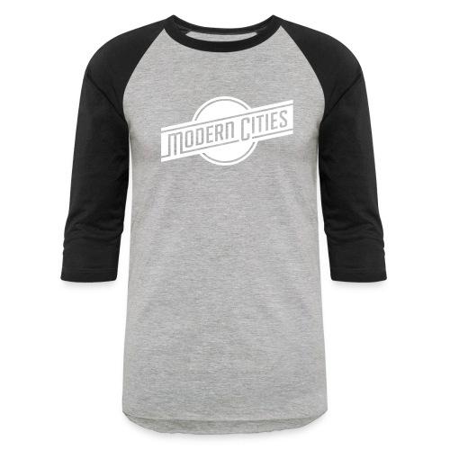 Modern Cities - Baseball T-Shirt