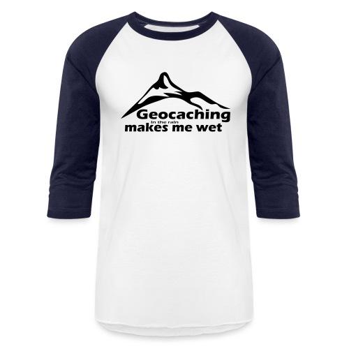 Wet Geocaching - Baseball T-Shirt