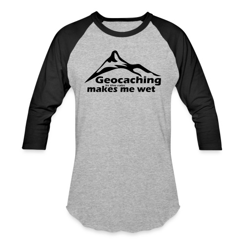 Wet Geocaching - Baseball T-Shirt