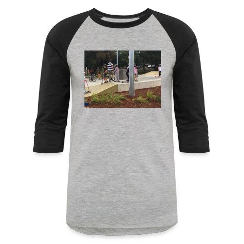 scate park no sleve t-shairt - Baseball T-Shirt