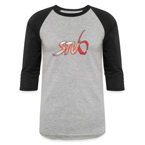 STU6 Logo T-Shirt - Unisex Baseball T-Shirt