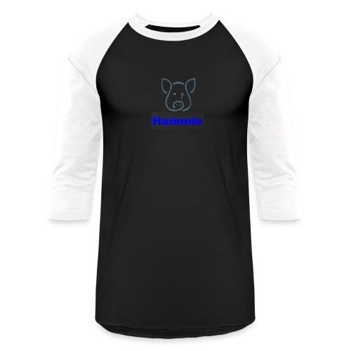 Hammie Logo with Brand Name - Baseball T-Shirt