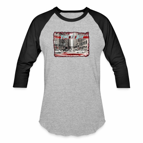 Blood in The Streets T-shirt - Unisex Baseball T-Shirt