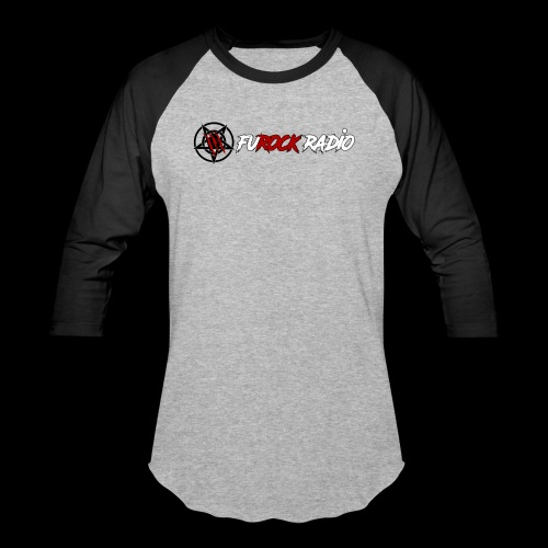 FuROCK Banner - Unisex Baseball T-Shirt