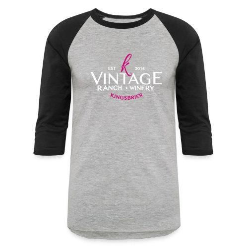 Kingsbrier Vintage 2014 - Unisex Baseball T-Shirt