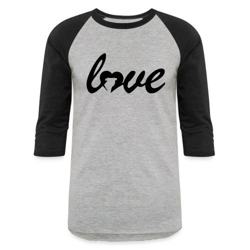 Dog Love - Baseball T-Shirt