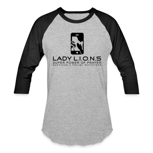 Lady Lions BY SHELLY SHELTON - Unisex Baseball T-Shirt