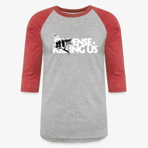 Suspense Is Killing Us Black Eye Logo - Baseball T-Shirt