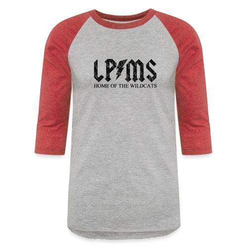 LPMS Voltage Distressed - Unisex Baseball T-Shirt