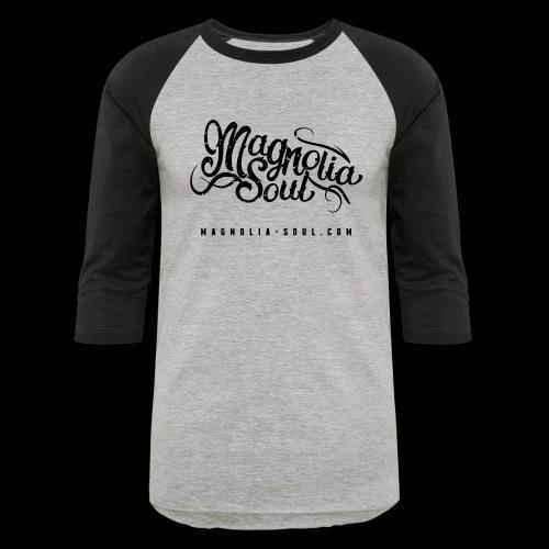 Magnolia Soul Logo - Baseball T-Shirt