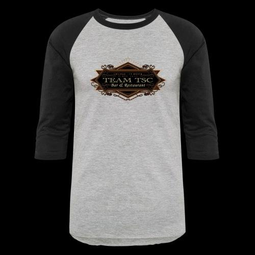 teamTSC badge03 Bar - Baseball T-Shirt