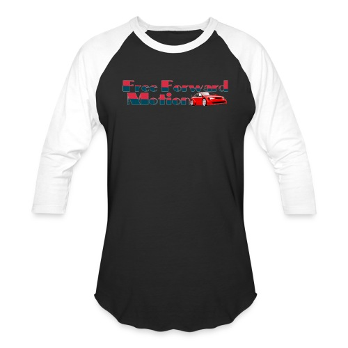 Free Forward Motion - Baseball T-Shirt