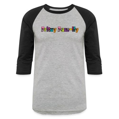 Fritzy FAM-ily Grunged - Unisex Baseball T-Shirt