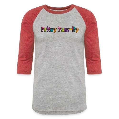 Fritzy FAM-ily Grunged - Baseball T-Shirt