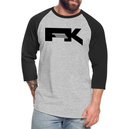 Chunky Symbol - Unisex Baseball T-Shirt