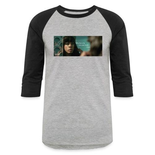 Coco Why Live a Lie - Unisex Baseball T-Shirt