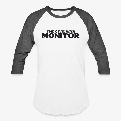 CWM LOGO BLACK - Baseball T-Shirt