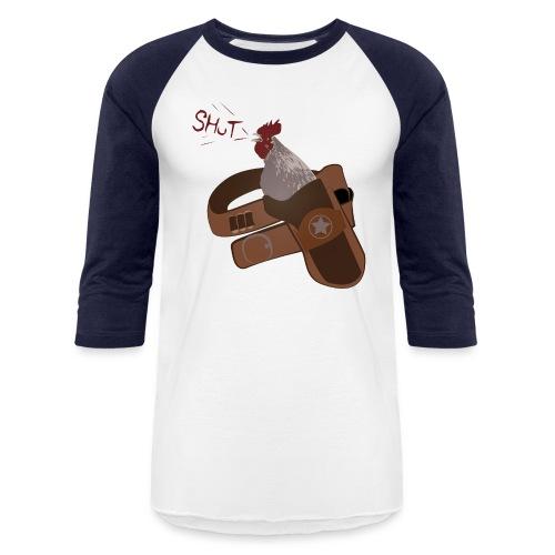 RoosterHolster - Unisex Baseball T-Shirt