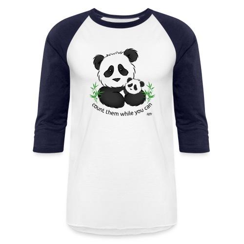 SnuggleCoats_panda - Baseball T-Shirt