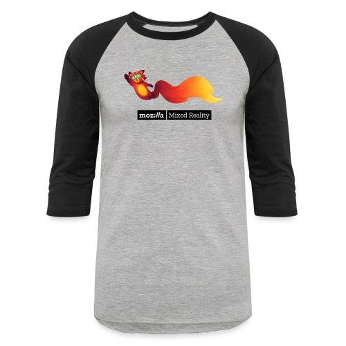 Flying Foxr (black MR logo) - Baseball T-Shirt