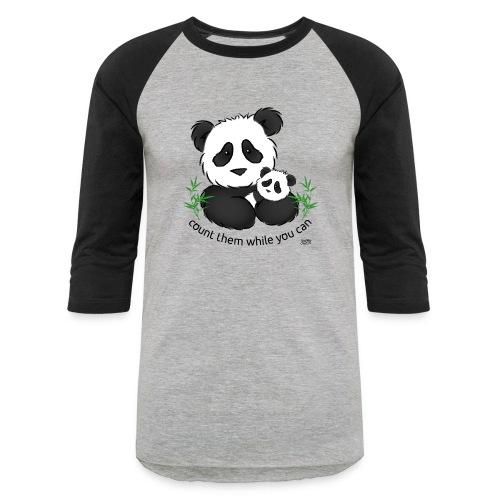 SnuggleCoats_panda - Unisex Baseball T-Shirt
