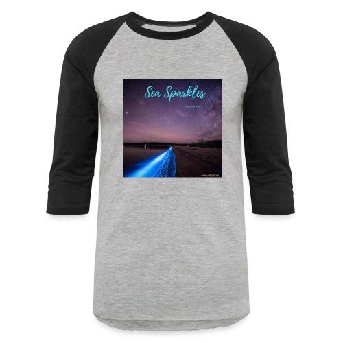Tasmanian Sea Sparkles - Baseball T-Shirt