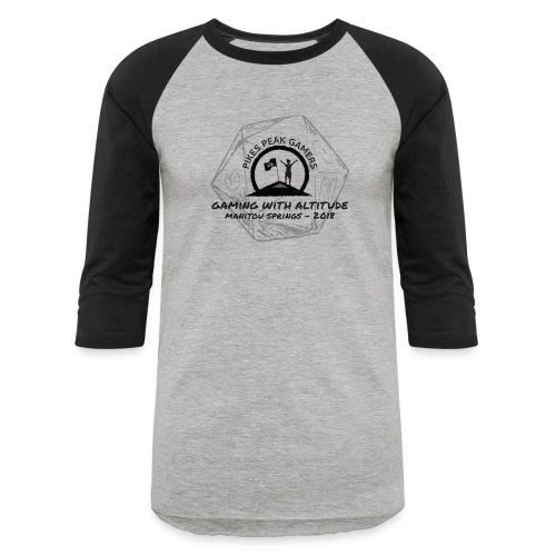 Pikes Peak Gamers Convention 2018 - Clothing - Baseball T-Shirt