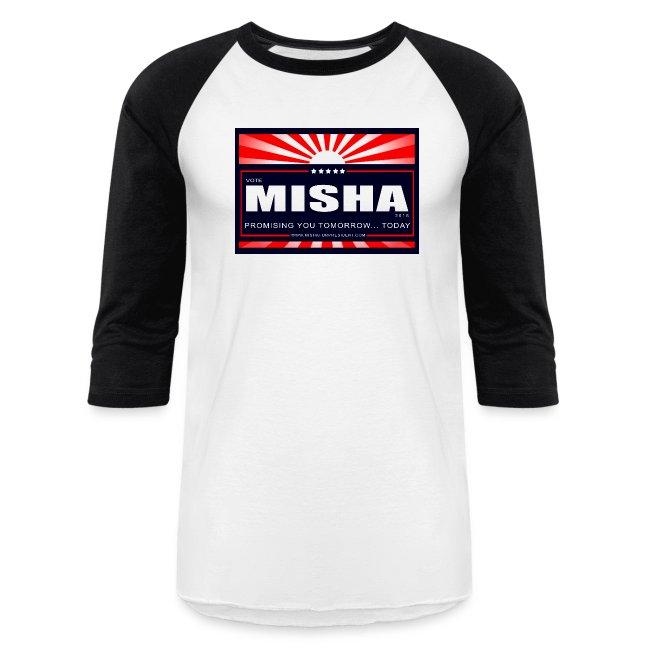 Vote 4 Misha Poster