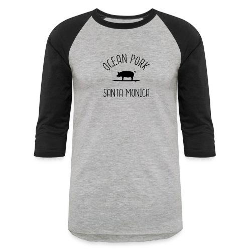 Ocean Pork b - Unisex Baseball T-Shirt