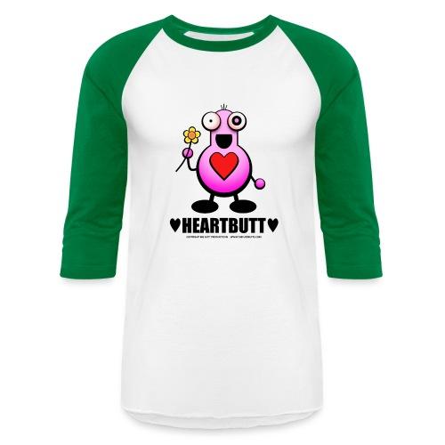 HeartButt - Unisex Baseball T-Shirt