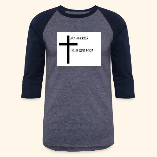 No Worries - Baseball T-Shirt