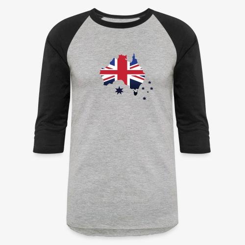 Awesome Aussie - Unisex Baseball T-Shirt