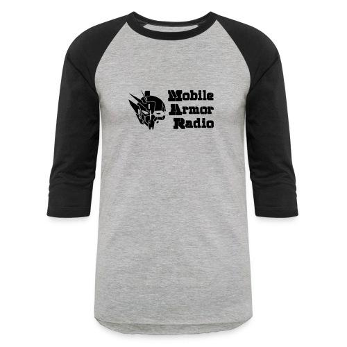 MAR1 Black - Unisex Baseball T-Shirt