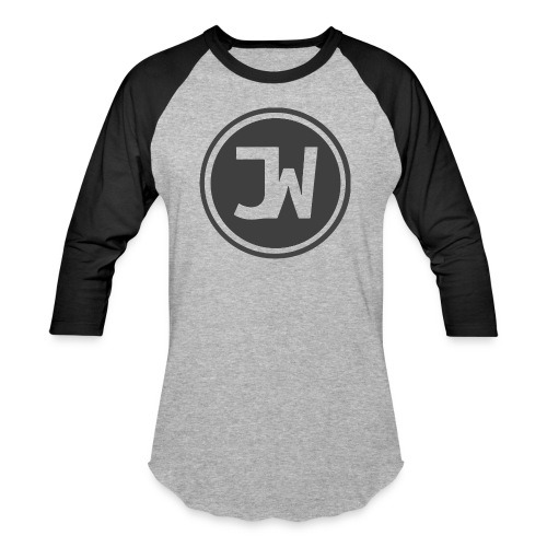 Grey Johannes With Logo - Baseball T-Shirt