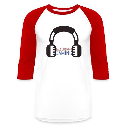 SALSUNSHINE GAMING LOGO - Baseball T-Shirt