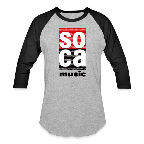 Soca music - Baseball T-Shirt