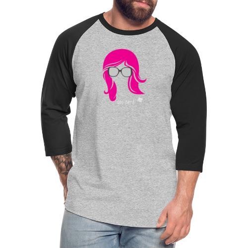 Geo Nerd (her) - Unisex Baseball T-Shirt