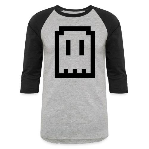 Ghost Logo - Unisex Baseball T-Shirt