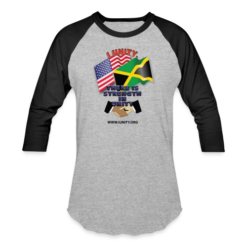 Jamaican flagE01 - Unisex Baseball T-Shirt