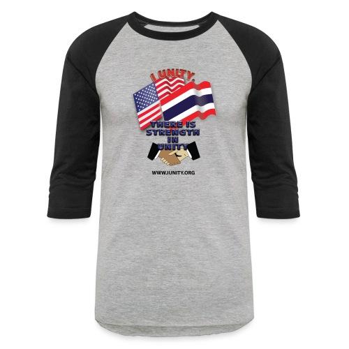 Flag of ThailandE01 - Unisex Baseball T-Shirt